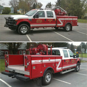 Rodman FD | Northern Fire Equipment added lights and other modifications